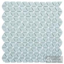Baldosas de mosaico de vidrio triangular Art