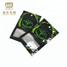 Resealable мешки алюминиевой фольги упаковки чая три-бортовая жара-уплотнение Подгонянный мешок Майлара плоский мешок с ziplock