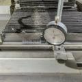 double needle bar machine sinker needle bed