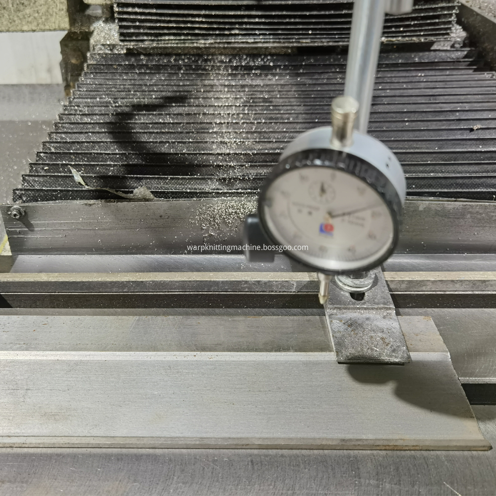 Sinker Needle Bed Under Production