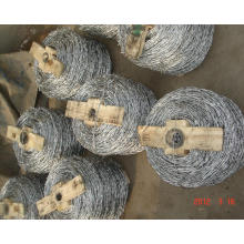 Barbed Wire Mesh Fencing (wood packing)