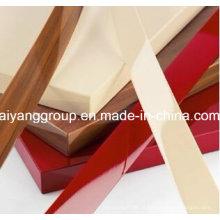Mobiliário PVC / ABS Woodgrain Color Borda Lingüeta