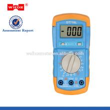 multímetro digital DT710L del precio bajo con el probador de la batería de la luz de fondo