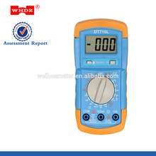 low price digital multimeter DT710L with Backlight Battery Tester