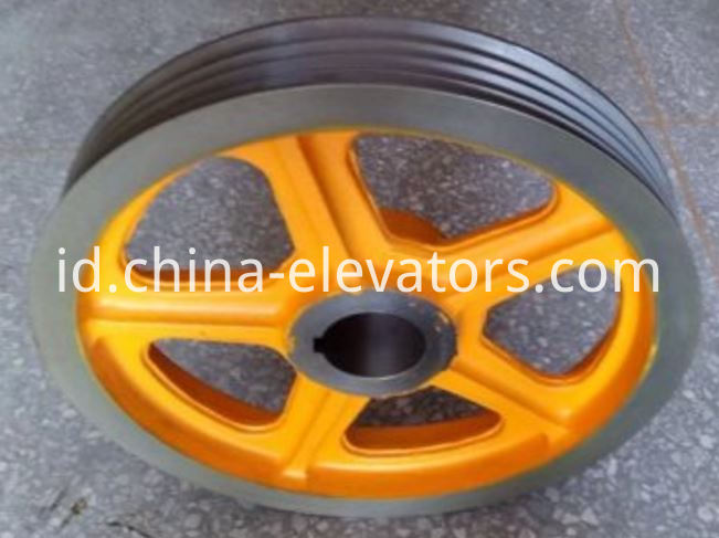 TKM Traction Sheave for Hitachi Elevators