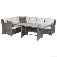 Patio Wicker Sofa Lounge Set Outdoor-Rattan Gartenmöbel