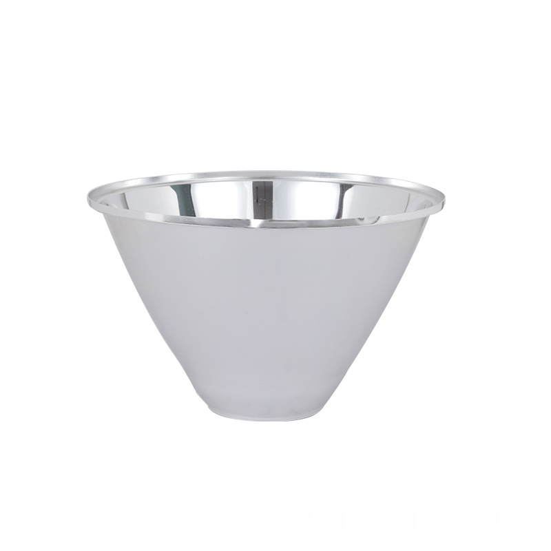 mirror vacuum coating led reflector cup