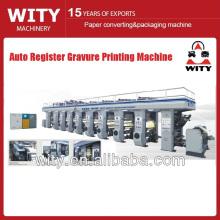 Machine d'impression à gravure à immatriculation automatique de 2015