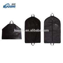 Großhandel Baumwolle Frabic atmungsaktive Kleidersack mit Logo-Print
