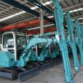 Solar Farm Hydraulic Pile Driver für die PV-Installation