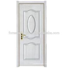 White New Simple Design Melamine Finished Molded Door