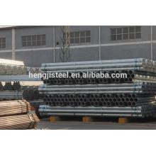 Fábrica astm a53 tubulação de água de aço galvanizado para venda quente