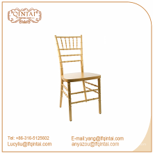goldene metallrohr großhandel billige chiavari tiffany stühle