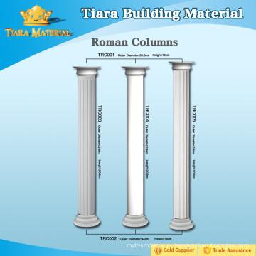 Декоративная римская колонка PU для дизайна интерьера