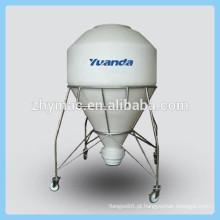 Mobile PE de carro de pó, máquina de pó de leite seco, transportadora