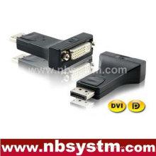 DP para adaptador DVI wIC (macho DP para DVI fêmea)
