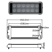 High Power LED Interior Light 24W EMC Approved