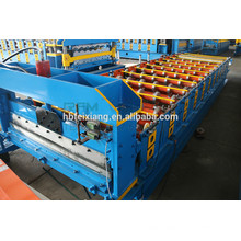 Pinch plate roll forming machine