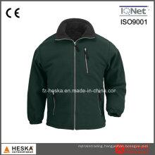High Quality Wholesale Men Polar Fleece Jacket Casual Outdoor Garment with Zipper