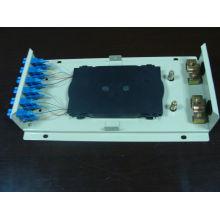 Caja de pared ODF SC12 con adaptadores y trenzas