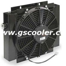 Hydraulic Oil Cooler with 12V Motor