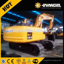 Máquina excavadora de 12 toneladas YUGONG Excavadora WY135-8