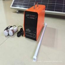 Kits d'éclairage maison solaire avec 5 ans de garantie