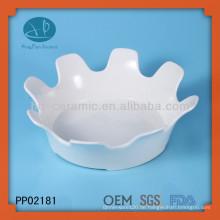 Großhandel weiße Keramikplatten bulk