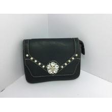 Designer Fashion PU Diamond Rivets Diamond Flower Chain Crossbody Bag (XJ672 #)