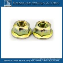 Prevailing-Torque Type Steel Hex Flange Nut