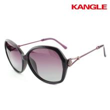 High quality big size female polarized lenses glasses sunglasses 2017