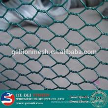 Hexagonal decorative pvc coated wire mesh chicken wire mesh