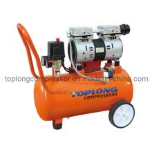 Óleo livre Oilless Silent Dental motor industrial da bomba do compressor (Hw-1024)