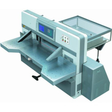 Innovo Touch screen double worm wheel double guide paper cutting machine