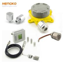 Sintered 316L stainless steel gas sensor probe filter housing for acetylene gas detector