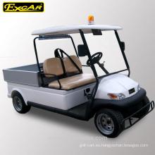 Camión de golf eléctrico de la patrulla de la marca Excar de 4 plazas