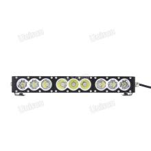 Barra de luz LED de una sola fila CREE de 17 pulgadas, 12 V y 90 W