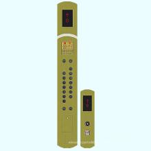 Piezas de repuesto de ascensor Cba03 coche Panel de operación (COP) y el Panel de operación pasillo (salto) para el elevador