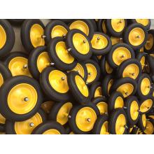 Твердых резиновых колес 350-8, твердые колеса, с металлическими колеса