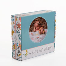 Custom Printed Logo Pappersförpackning Baby Products Box