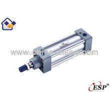 Cilindros de aire compactos estándar ISO6431 de la serie SI