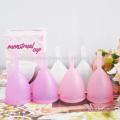 менструальная чаша медицинского силикона Кубок менструальный многоразовые