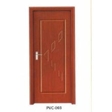 PVC Wooden Door for Kitchen or Bathroom (pd-009)