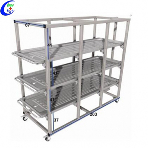 Cadaver Storage Rack
