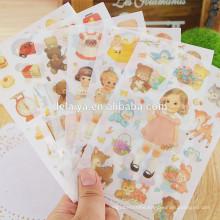 2016 fashion design paper sticker