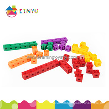 Math Classroom Materials Plastic Building Blocks (K002)