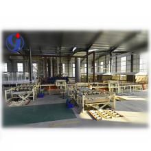 Particle board cutting machine/Cotton stalk particle board line machinery/ particle board laminating machine