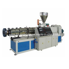 High Output Plastic Conical Twin Screw Extruder Machinery