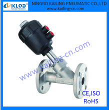 """2"""" angle drain valve, plastic actuator, KLJZF-50F, CE,ISO supported"""