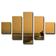 Framed Modern Wall Decoration Canvas Print Painting